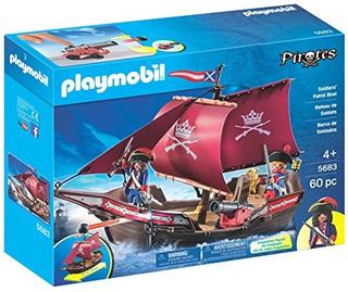 Conjuntos De Construcción,juguete Playmobil Soldados Pat..