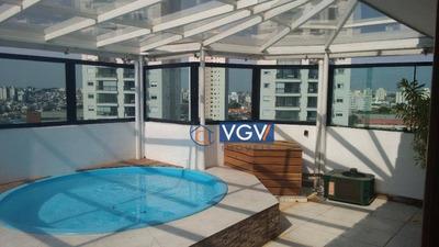 Linda Cobertura Duplex Para Locação Em Região Privilegiada Na Vila Mascote, São Paulo - Ap0874. - Ad0013
