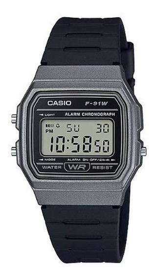 Relógio Casio F-91wm-1bdf Digital 100%original Com Garantia