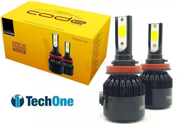 Kit Super Led Techone 12v 24v H1 H3 H4 H7 H8 H9 H11 Hb3 Hb4