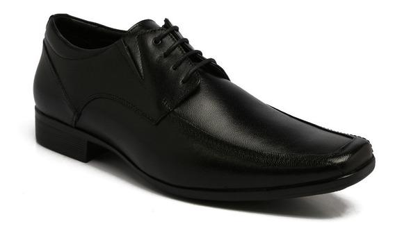 Sapato Ferricelli Couro Preto Ge47400 Pa00 P