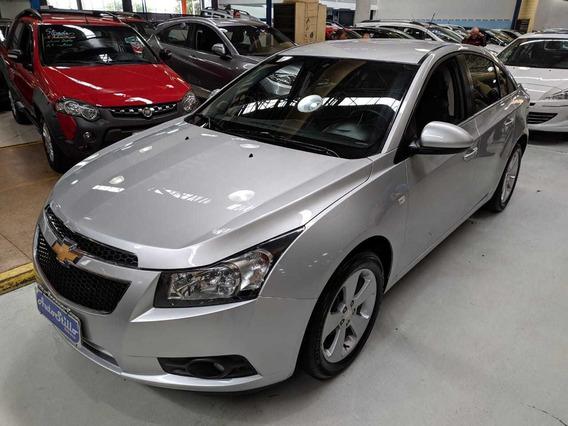 Chevrolet Cruze Sedan 1.8 Lt Prata 2013 (automático + Couro)