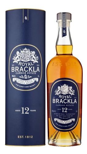 Imagen 1 de 6 de Whisky Royal Brackla 12 Años Single Malt 1 Litro En Estuche