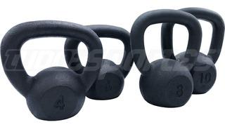 Kettlebells Kit 4, 6, 8, 10kg Crossfit Musculação Funcional