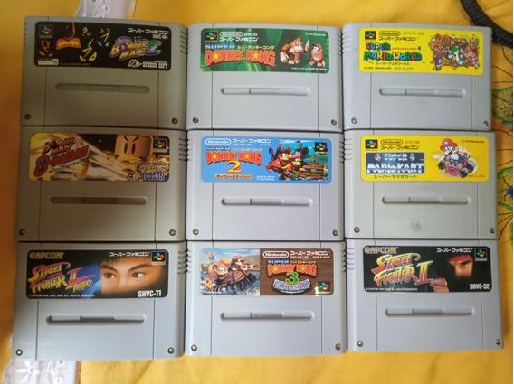 Jogos Super Famicom 65 Cada