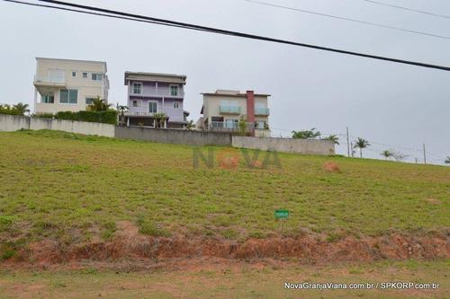 Imagem 1 de 12 de Terreno À Venda, 655 M² Por R$ 420.000,00 - Reserva Santa Maria - Jandira/sp - Te0910