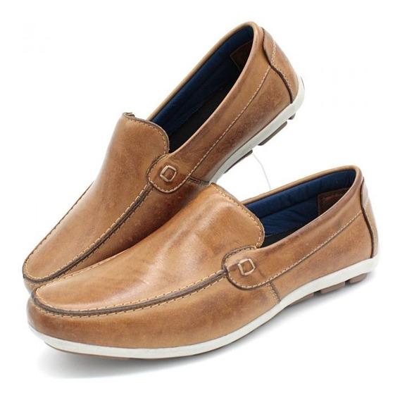 Sapato Mocassim Masculino Sapatênis Casual Couro Legítimo