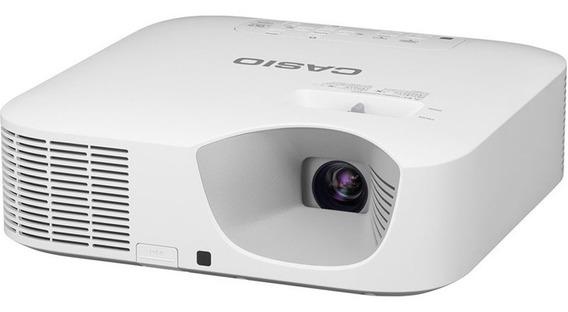 Mini Projetor Datashow Hd Casio Xj-f10x 3300 Lumens