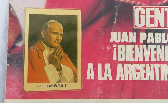 Juan Pablo Ii Poster Estampita Y Medalla - Usados -ver Fotos