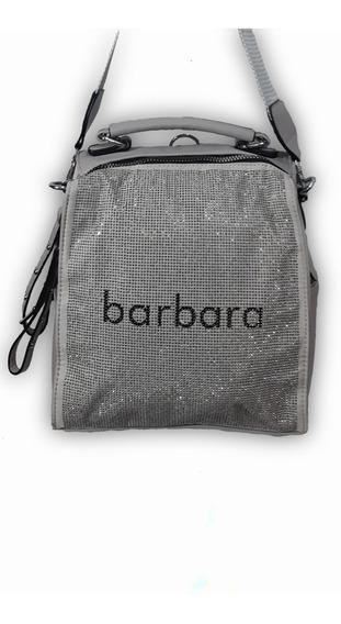 Mochila Cartera Barbara Bags Con Brillos 317