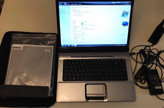 Notebook Hp Core 2 Duo - Tela 15.4 - Hd 160gb - Ram 2gb