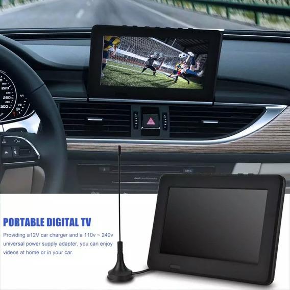 Tv Televisão Digital Recarregável 7 Polegadas Televisor
