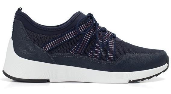 Sapato Tênis Piccadilly Calçado Azul Marinho Lançamento 2019