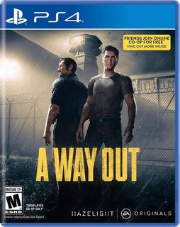 A Way Out / Juego Físico / Ps4