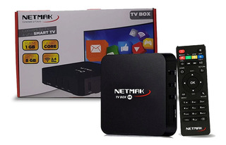 Conversor De Smart Netmak Nm Tv Box 8gb 4k 1gb Ram