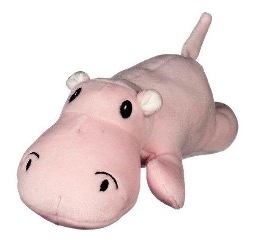 Brinquedo Hipopótamo Bicho Pelucia Para Cachorro Cães Animal
