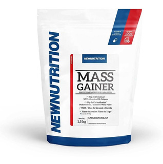 Mass Gainer Newnutrition 1,5 Kg Baunilha Pronta Entrega!
