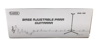 043-100 Base Ajustable Para Guitarra