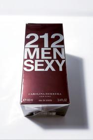 Perfume 212 Sexy Men 100ml Carolina Herrera- Video Original