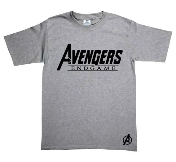 Playera Avengers Endgame Gris No Te Quedes Sin La Tuya!!
