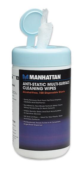 Toallas Humedas Manhattan Panos Limpiadores Bote 50 Toallas