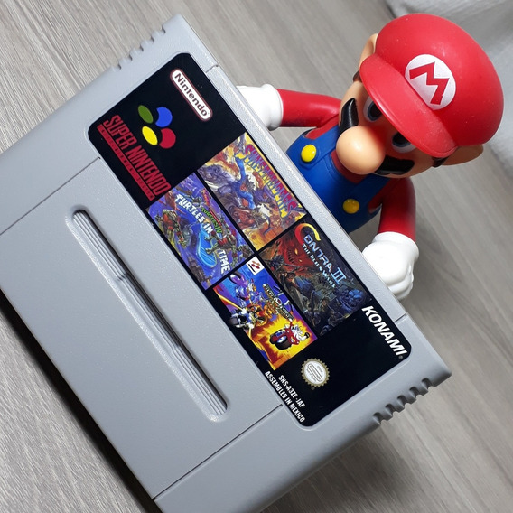 Super 4 Em 1 Cartucho Snes Super Nintendo