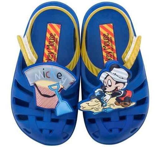 Sandalias Infantil Minnie Mickey Sunny Disney 17 Ao 27