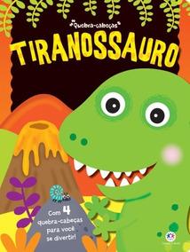 Livro Quebra-cabeças Tiranossauro