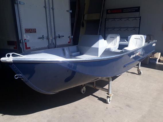 Barco De Alumínio Metalglass Karib 500 Cs