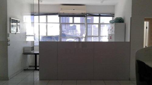 Sala Para Alugar, 47 M² Por R$ 1.000,00/mês - Centro - Campinas/sp - Sa1843