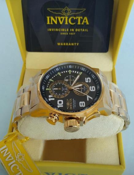 Relógio Invicta 17416 Masculino Banhado Ouro 18k