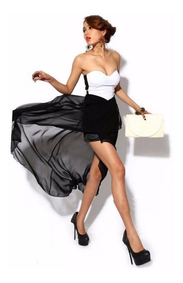 Elegante Moda Coreana Estraple Talla Chica