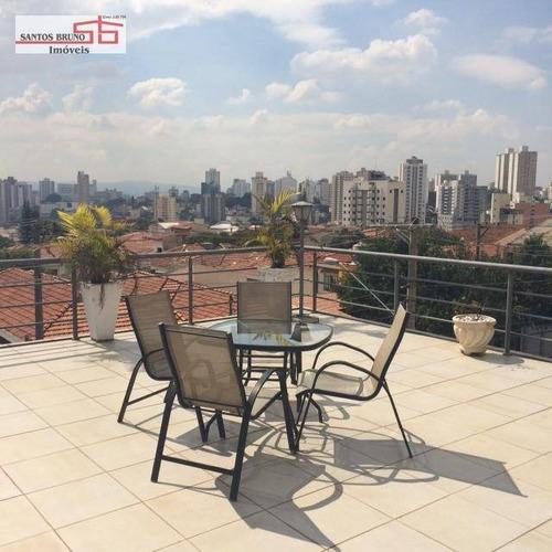 Sobrado Com 11 Dormitórios Para Alugar, 350 M² Por R$ 8.500,00/mês - Vila Anglo Brasileira - São Paulo/sp - So1273