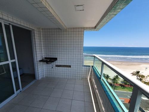 Imagem 1 de 27 de Apartamento De 2 Quartos Com Vista Do Mar À Venda Em Praia Grande Com Churrasqueira E Piscina!!! - Ap4794