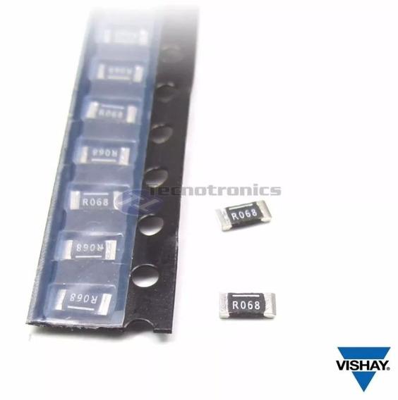 10 Resistor 0.068 Ohm 1% 1w Smd 1206 Sensor Corrente Fonte