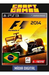 F1 2014 Portugues F1 2014 Digital Games Psn Ps3