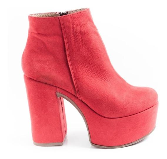 Botas Zapatos Mujer Plataformas Borcegos Livianas Negro