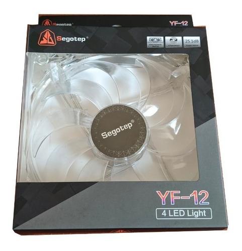 Ventilador Fan Cooler Segotep Yf 12cm 120mm