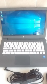 Hp Stream Laptop Notebook 14 Led Celeron N3060 Ssd32gb* 4gb