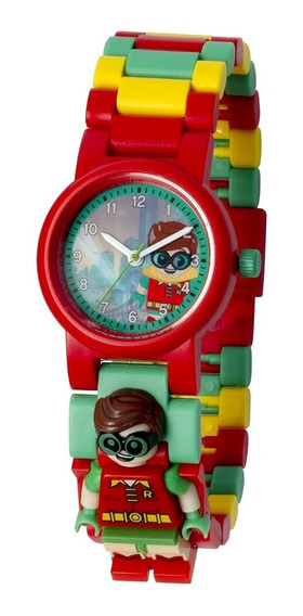Lego Batman Movie Reloj Minifigura Robin Niños
