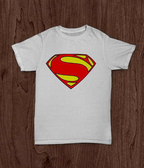Remera Superman Logo 2016