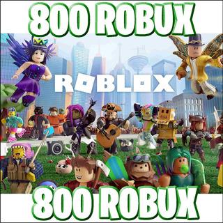 Roblox - 800 Robux - Entrega Inmediata
