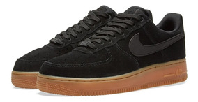 Nike Air Force 1 07 Lv8 Suede Black Gum