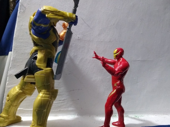 Marvel Legends Endgame Thanos Vs. Iron-man