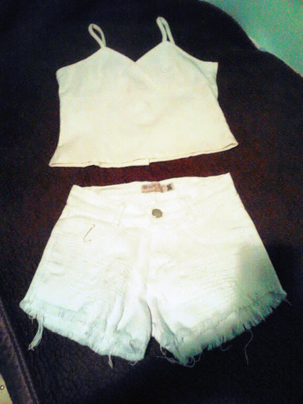 Conjunto Croped E Short