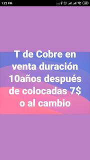 T De Cobre