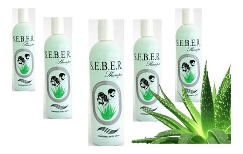 Seber Shampoo 500ml 5 Piezas