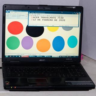 Laptop Acer Travelmate 7530-5345 Para Refacciones