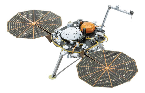 Figura Para Armar Metalearth- Insight Mars Lander- Modelismo