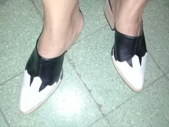 Zapato Zueco De Mujer. Marca Skayne. Modelo Ambar
